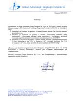 CENTRUM PULMONOLOGII IALERGOLOGII S.A.
